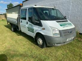 2012 Ford Transit 2.2 TDCi 350 Double Cab Chassis RWD L 4dr (EU5, DRW, LWB) Chas
