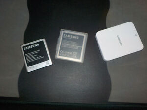 Samung S4 batteries and charger