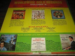 Reduced price ELVIS LP VOLUME 4 GOLD RECORDS Gatineau Ottawa / Gatineau Area image 2