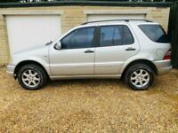 mercedes ml 430 4.3 petrol ideal family car or petrol van