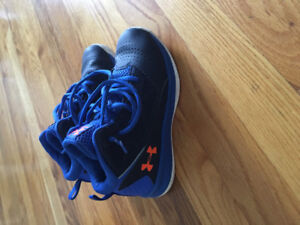 Under Armour Baskbetball Sneakers Size 1