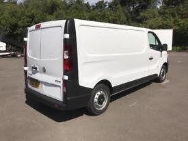 Vauxhall Vivaro L2 H1 2900 1.6 115PS EURO 5 DIESEL MANUAL WHITE (2015)