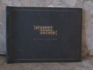 Vintage Sturmey Archer bike gear manual