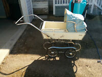 Thistle antique baby carriage