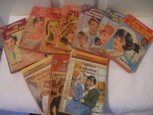 10  HARLEQUIN SOFT COVERED ROMANCE NOVELS for YOUR PLEASURE
