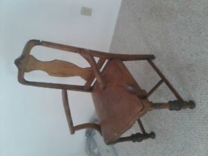 Antique  chair over 100 years old in great condition.