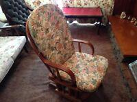 Nursing Glider Rocking Chair
