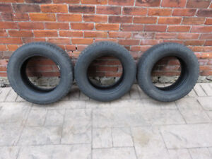 3 Used Michelin X-Ice 185 / 65 R14 winter tires