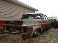Custom Chevy C10 Crew Cab Project For Sale