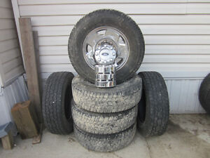 Ford Chrome 17 inch stock rims
