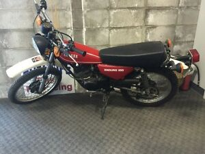 Classic collectors bike 1981 Yamaha enduro 100GT street legal