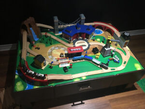 Thomas and Friends Wooden Railway; train table and tracks