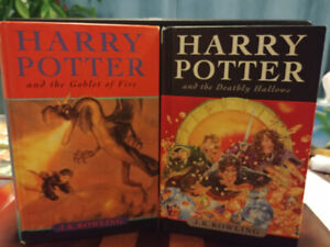 Harry Potter books- livres (1st Can edition) 20$