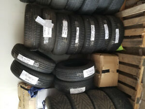 VARIOUS SIZES USED TYRES IN GOOD CONDITION