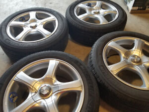 RTX RIMS with tires - P205/55R16.