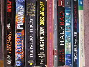 Brand NEW Paperbacks - Mostly Fiction - $5.00 ea. on Choice
