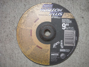 GRINDING DISCS/WHEELS, CUTTING DISCS/WHEELS