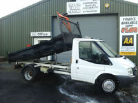 Ford Transit 2.4TDCi Duratorq ( 3 WAY TIPPER)**DIRECT COUNCIL 56K**