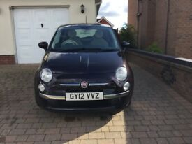 Fiat 500 Lounge Twinair 0.9L (2012) £0 road tax - 28,000 miles