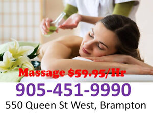 Welcome New Practitioner $59.5/HR Great Relaxation Massage