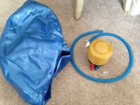 Excercise/Birthing ball & pump