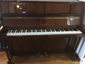Upright Petrof Piano for sale