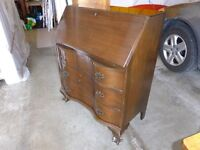 Antique Drop-Front Desk