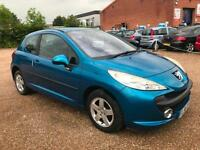 2006(56) Peugeot 207 1.4 16v 90 Sport Met Blue 3dr Hatch, **ANY PX WELCOME**