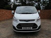 FORD TRANSIT CUSTOM 290 L1 H1 DOUBLECAB LIMITED SWB 155 BHP AIR CON 6 SEATS