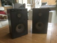 Vintage Hifi speakers by Trio