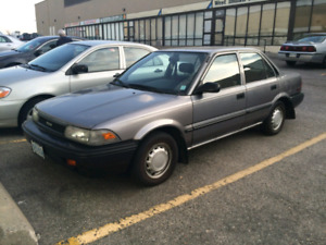 Immaculate Toyota Corolla 144k for classic car lovers