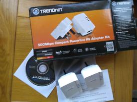 Trend net 500Mbps Power line AV Adapter