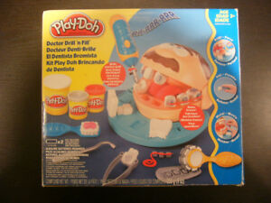 Play doh dentist set