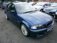 BMW 325 2.5i 2001MY M Sport 2 OWNERS ONLY 50000 MILES WITH FULL SERVICE HISTORY