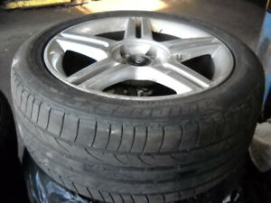 CRV & Audi  all season tire one set 4 wheels  tires+ rims  $500