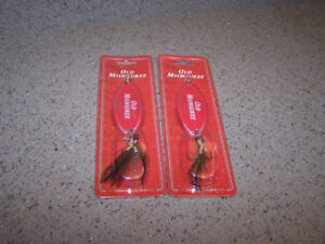 2 -OLD MILWAUKEE FISHING LURE NEW IN PACKAGE