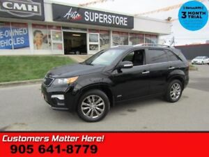 2012 Kia Sorento SX  V6 AWD NAV LEATH ROOF CS/HS MEM PREM-AUDIO