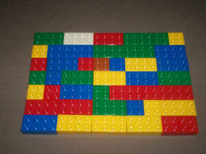 DUPLO BLOCK LOT with OTHER BUILDING BLOCKS 250 PIECES
