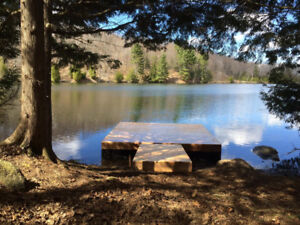 It's cottage time.  Do you have a beautiful floating dock?
