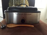 Hot stones massage oven heater and stones