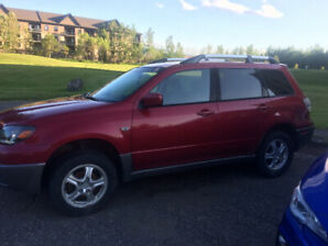 AS IS. 2004 Outlander. Good for parts. $1000 OBO