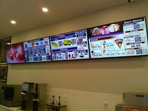 TVs Menu, POS System and Digital Signage