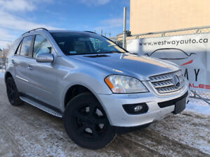 2008 MERCEDES BENZ ML 550 ONLY HAS 134476 KMS 4MATIC DVD !
