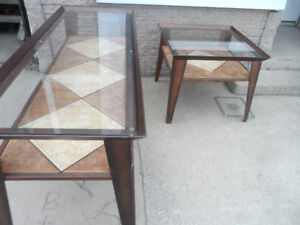 Flat Screen TV Stand & Coffee Table Plant Stand Entry Hall