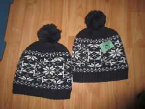 Warm winter hats size 2T