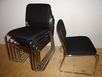 6 Stacking Chairs