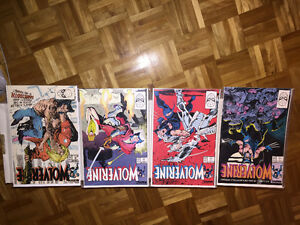 Wolverine Comic Lot Run Collection Set Great Deal