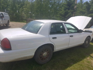 2011 crown Victoria ex RCMP police car