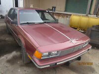 JUST IN FOR PARTS 1986 BUICK CENTURY @ PICNSAVE WOODSTOCK!