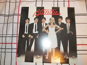 Record Blondie-Parallel Lines-Near Mint Lp Vinyl 1978